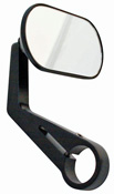 Shin Yo AGILA Custom Motorcycle Handlebar End Mirrors Black Finish