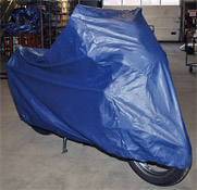 Moto Professional Large Motorcycle Rain Cover for Streetbikes to 650cc
