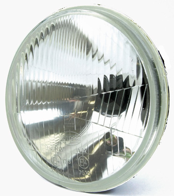 "7"" Inner Reflector and Glass Unit Replacement Motorcycle Headlight"