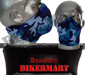 Bandero Electric Camo Facemask Motorcycle Scooter Face Mask
