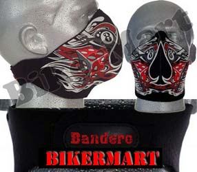 Bandero Ol'Skool Facemask Old School Motorcycle Face Mask