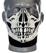 Bandero Ladies Skull Facemask Motorbike Scooter Face Mask