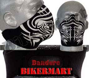 Bandero Tribal Facemask Motorcycle Scooter Face Mask