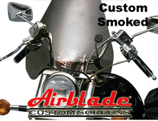 Airblade Custom Blade Motorbike Screen Smoke or Clear