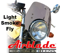 Airblade Headlight Mount Motorbike Fly Screens