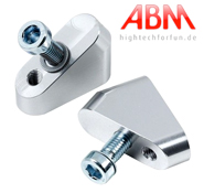 ABM Booster Fat Bar Angled Riser Block Set