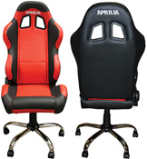 APRILIA Motorbike Showroom or Workshop Paddock Team Chair