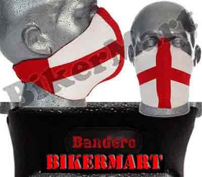 Bandero St George Facemask Motorbike Scooter Face Mask