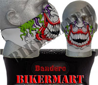 Bandero Joker Mod Facemask Motorcycle Scooter Face Mask