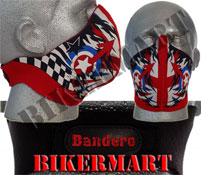 Bandero Mod Facemask Motorbike Scooter Face Mask