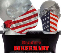 Bandero American Patriot Facemask Motorbike Scooter Face Mask