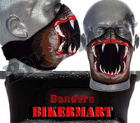 Bandero Slayer Facemask Motorcycle Scooter Face Mask
