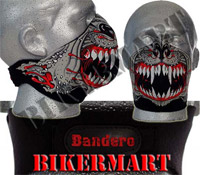 Bandero Spike Facemask Motorcycle Scooter Face Mask