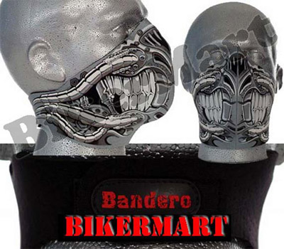 Bandero Terminator Facemask Motorcycle Scooter Face Mask