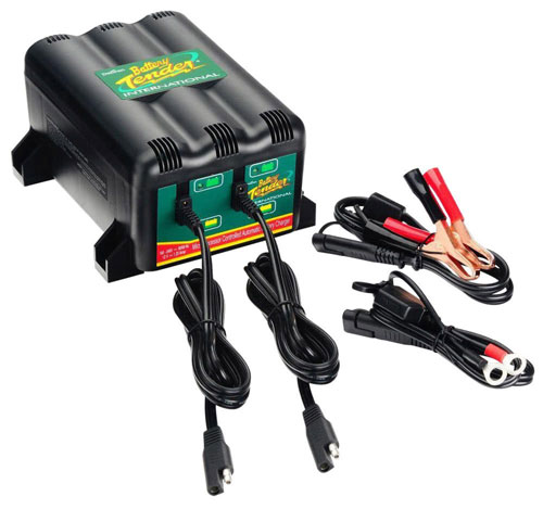 BATTERY TENDER 2~BANK System Motorcycle Workshop Charger