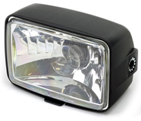 BikeIt Universal City Headlight for Lightweight Motorcycles