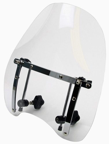 BikeIt Deluxe Highway Custom Motorbike Windshield Screen