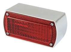 BikeIt Night Light Rectangular Rear Stop and Tail Light
