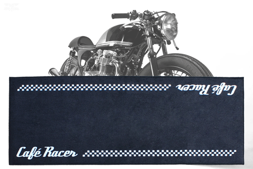 Biketek Series 3 Cafe Racer Motorbike Garage Mat