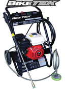 Biketek Remote Feed Petrol Motorcycle Power Washer