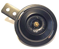 100dB Black 70mm Diameter 12v Horn E~Marked