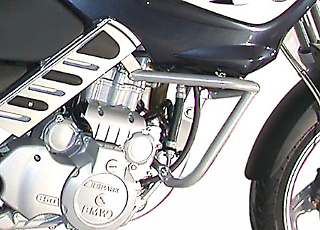 BMW F650CS Scarver 2002~05 Silver SW~Motech Engine Guard Crash Bar
