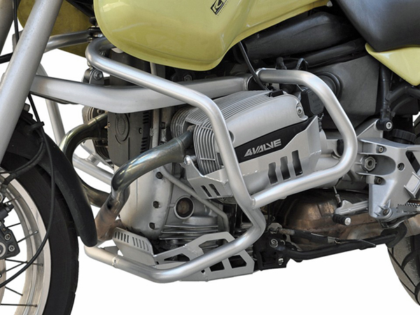 BMW R1100GS 1994~99 Silver IBEX Crash Bar Engine Protector