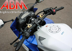 Honda CBR600F 2011 onwards (ABS vers) ABM Fat Bar Top Yoke Kit
