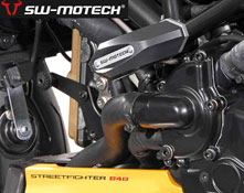 Ducati 848 Streetfighter 2011 onwards SW Motech Frame Slider Kit