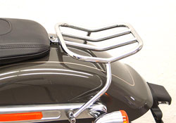 Harley HD Softail Fehling Chrome Rear Luggage Rack