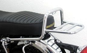 Kawasaki W650 W800 Fehling Chrome Rear Luggage Rack