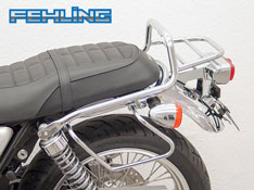 Honda CB1100EX CB1100RS FEHLING Chrome Rear Luggage Rack