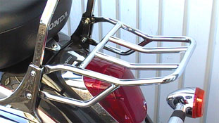 Honda F6C Valkyrie 1996~01 FEHLING Chrome Rear Luggage  Rack