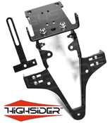 Yamaha FZ6 / Fazer 2004~09 Highsider Tail Tidy Number Plate Bracket