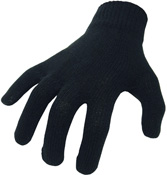BikeIt Thermal Cotton Motorcycle Inner Gloves One Size