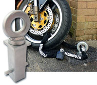 Mammoth Security Concrete In Motorbike Ground Anchor