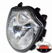 Suzuki GSF1250 2010- SHIN YO Replacement Headlight E-marked
