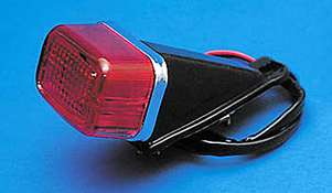 GS Mini Motorcycle Tail Light with Stop Light