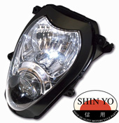 Suzuki GSX1300R 99-07 SHIN YO Replacement Headlight E-marked