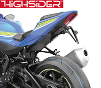 Suzuki GSXR1000 2017 onwards Highsider Tail Tidy Number Plate Bracket