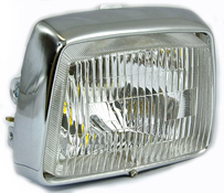 BikeIt Replacement Headlight for Honda C70E C90E CUB