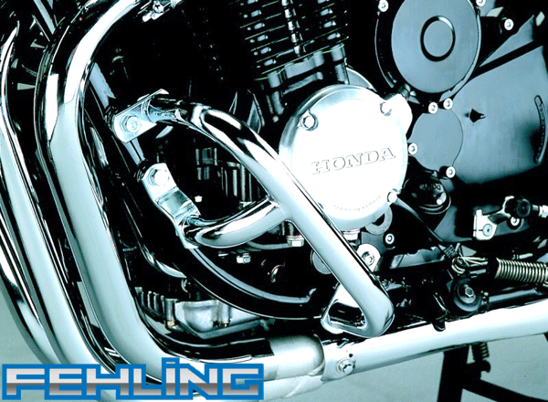 Honda CB750 Seven Fifty 1992~03 Fehling Chrome Engine Protection Bars