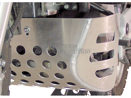 Honda XL650V Transalp 2000~07 silver SW~Motech Engine Guard Bash Plate