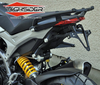 Ducati 821 Hypermotard and Hyperstrada 2013 to 2015 Highsider Number Plate Bracket