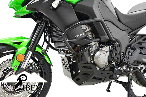 Kawasaki Versys KLZ 1000 2015~ Black IBEX Crash Bar