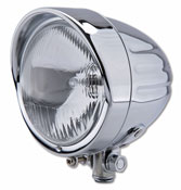 Highsider Indian Style 4-1/2 inch High Beam Lamp Bottom Mount