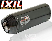 Ixil Hexoval XTrem Edition Black Stainless Steel and Carbon Silencer