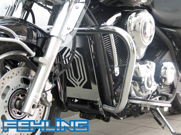 Kawasaki VN 1700 Classic 2010~14 Fehling Oversize Chrome Crash Bars