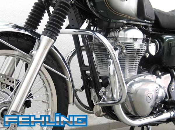 Bikermart Kawasaki W650 199905 And W800 201116 Fehling Chrome