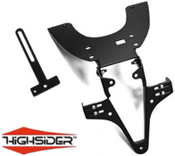 Kawasaki Z750 04~06 Highsider Tail Tidy Number Plate Bracket